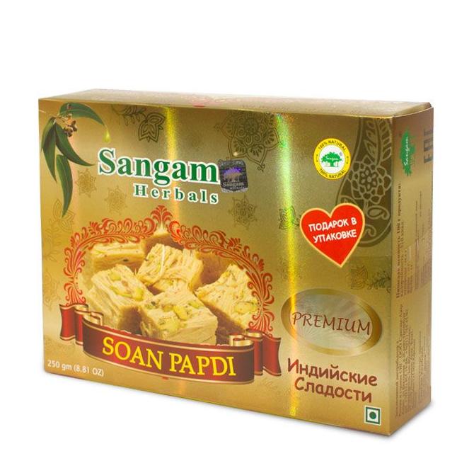 Индийская халва Soan Papdi премиум 250г